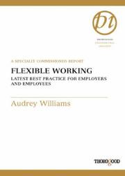 Cover of: Flexible Working | Audrey Williams