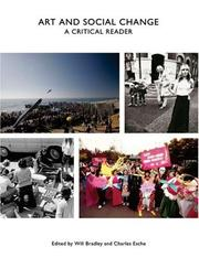 Cover of: Art and Social Change: A Critical Reader