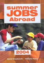 Cover of: Summer Jobs Abroad 2004 (Summer Jobs Abroad) |