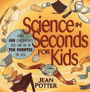 Cover of: Science in seconds for kids