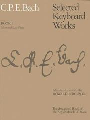 Cover of: Selected Keyboard Works (Signature S.)