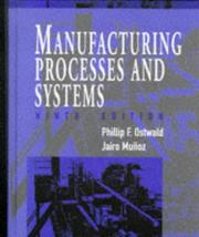 Cover of: Manufacturing processes and systems