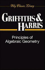 Principles of Algebraic Geometry