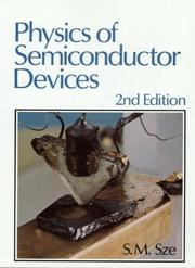 Cover of: Physics of semiconductor devices