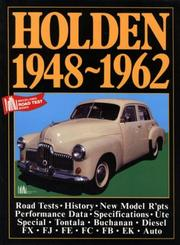 Cover of: Holden Road Test Book | R.M. Clarke