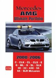 Cover of: Mercedes AMG Ultimate Portfolio 2000-2006 (Ultimate Portfolio)