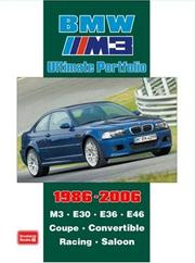 Cover of: BMW M3 Ultimate Portfolio 1986-2006 (Ultimate Portfolio) | R.M. Clarke
