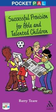 Cover of: Successful Provision for Able and Talented Children | Barry Teare