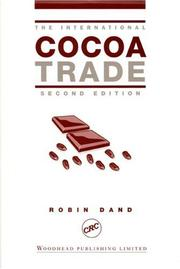 Cover of: The International Cocoa Trade (International Trade)