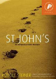 Cover of: St. John's
