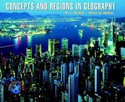 Concepts and Regions in Geography (Geodiscoveries)