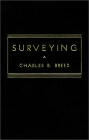 Cover of: Surveying | Charles B. Breed