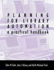 Cover of: Planning for library automation
