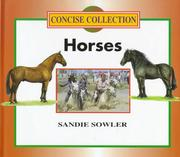 Cover of: Horses (Concise Collection) | Sandie Sowler