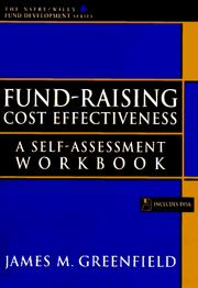 Cover of: Fund-raising cost effectiveness | James M. Greenfield