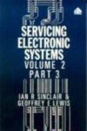 Cover of: Servicing Electronic Systems Control Systems, Part 3 | G. E. Lewis