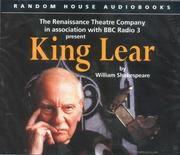 Cover of: King Lear (Renaissance Theatre)