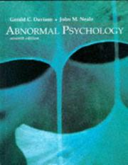 Abnormal psychology by Gerald C. Davison, Gerald C. Davison