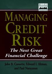 Cover of: Managing credit risk