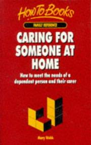 Cover of: Caring for Someone at Home | Mary Webb