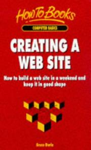Cover of: Creating a Web Site | Bruce Durie