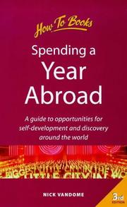 Cover of: Spending a Year Abroad | Nick Vandome