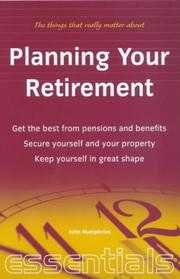 Cover of: Planning Your Retirement