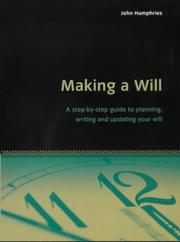 Cover of: Making a Will (Essentials)
