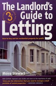Cover of: The Landlord's Guide to Letting