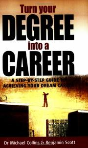Cover of: Turn Your Degree Into a Career (How to)