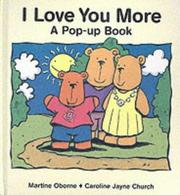 Cover of: I Love You More