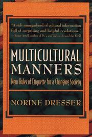 Cover of: Multicultural manners
