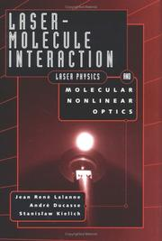 Cover of: Laser molecule interaction