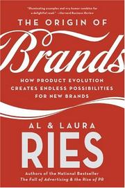 Cover of: The Origin of Brands | Al Ries