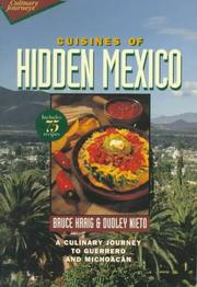 Cover of: Cuisines of Hidden Mexico | Bruce Kraig