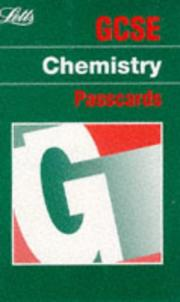 Cover of: GCSE Passcards Chemistry (GCSE Passcards)