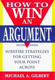 Cover of: How to Win an Argument