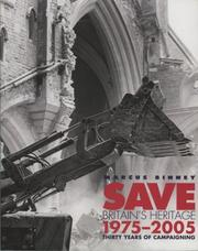 Cover of: Save Britian's Heritage 1975 - 2000