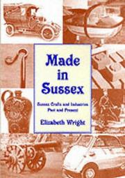 Cover of: Made in Sussex