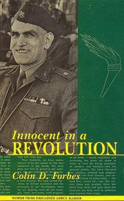 Innocent in a revolution by Colin D. Forbes