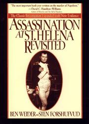 Cover of: Assassination at St. Helena revisited