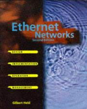 Cover of: Ethernet networks