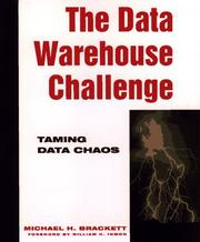Cover of: The data warehouse challenge