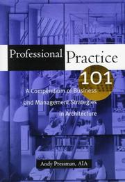 Cover of: Professional practice 101