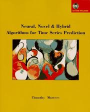 Cover of: Neural, novel & hybrid algorithms for time series prediction