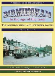 Cover of: Birmingham in the Age of the Tram (In the Age of the Tram)