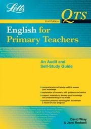 Cover of: English for Primary Teachers (Qts: Audit & Self-Study Guides) | David Wray