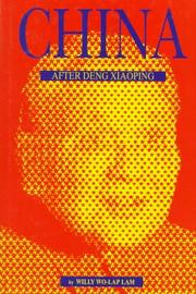 Cover of: China after Deng Xiaoping | Willy Wo-Lap Lam