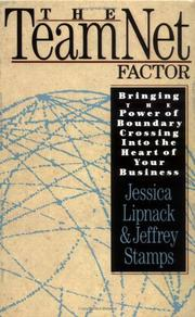 Cover of: The TeamNet Factor | Jessica Lipnack