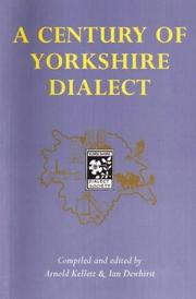 Cover of: A century of Yorkshire dialect